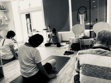 【報告】ヨガ教室を開催しました。